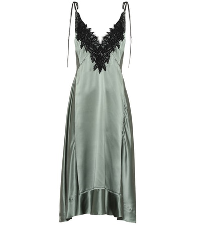 Satin Seduction Silk Dress