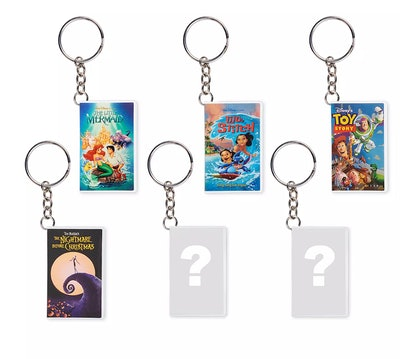 Oh My Disney VHS Cover Keychains