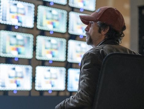 Tim Blake Nelson as Looking Glass in 'Watchmen'