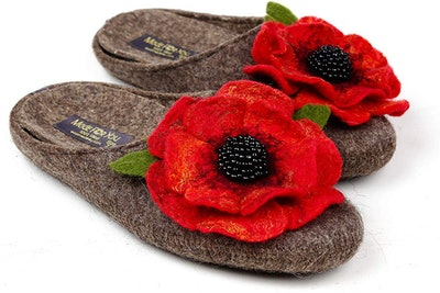 Made For You Wool Slippers