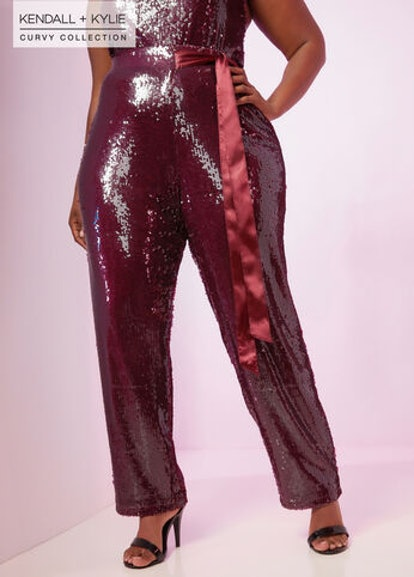 Kendall + Kylie Sequin Pant