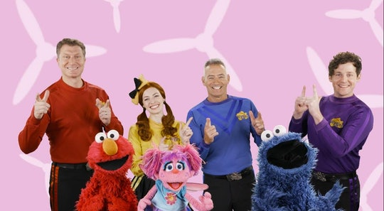 'Sesame Street' collaborated with the Wiggles to celebrate 50 years of the show.