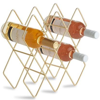 VonShef 8-10 Bottle Wine Rack