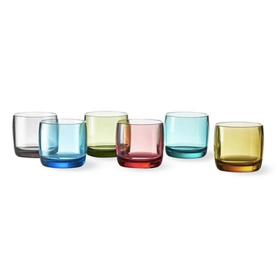 Tritan Double Old Fashioned Glasses, Set Of 6