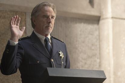 Don Johnson as Judd Crawford in 'Watchmen'
