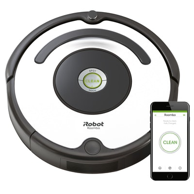 iRobot Roomba 670 Robot Vacuum-Wi-Fi Connectivity
