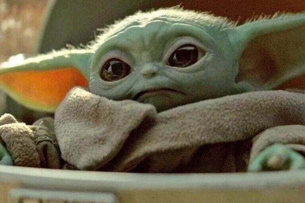 Baby Yoda omg it's so cute