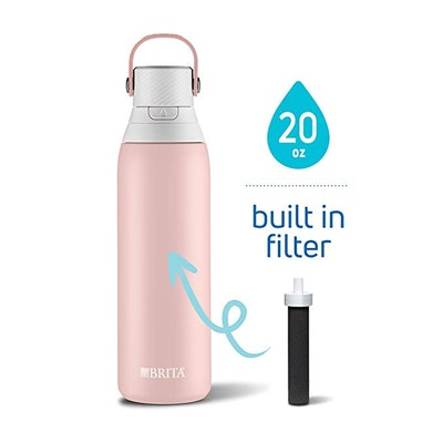 Brita 20 Ounce Premium Filtering Water Bottle with Filter