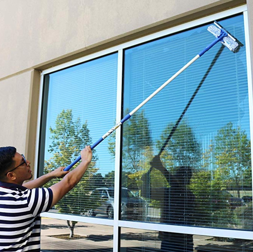 professional window cleaning Bella-Easy window cleaning set strip-free glass surfaces in no time at all