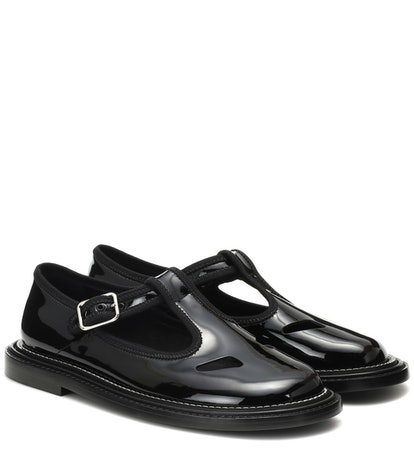 Alannis Patent Leather Mary Janes