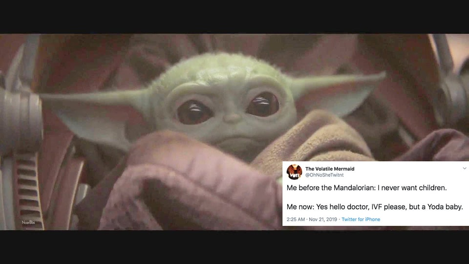 Baby Yoda memes are taking over the internet, and for good, adorable reason.