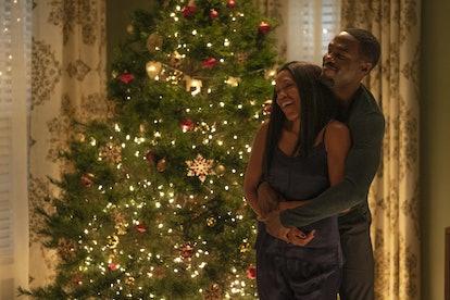 Angela and Calvin Abar in 'Watchmen'