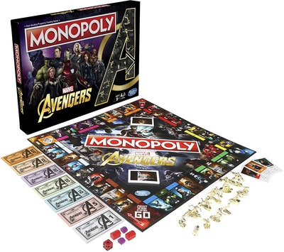 Avengers Monopoly Board Game