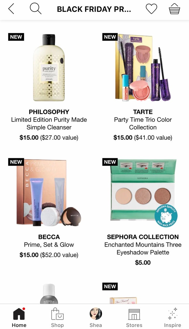 More of Sephora's Black Friday deals will be announced at a later time.