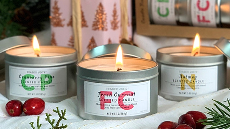 Trader Joe's has a new candle trio just in time for the holiday season.
