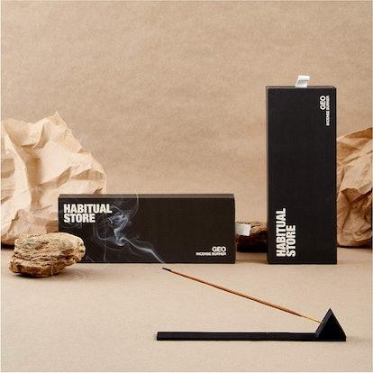 HABITUAL STORE Incense Burner Holder and Tray