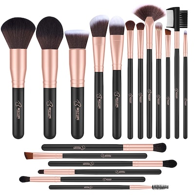 BESTOPE Makeup Brushes (18-Piece Set)