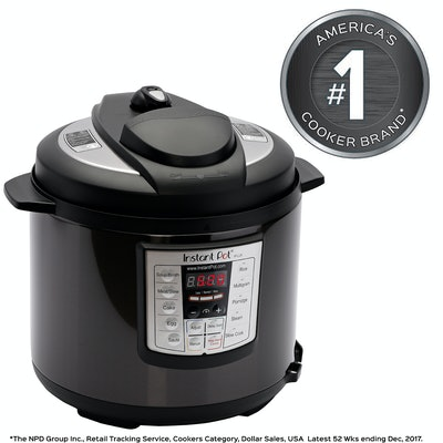 Instant Pot Stainless Steel 6-Quart Programmable Pressure Cooker