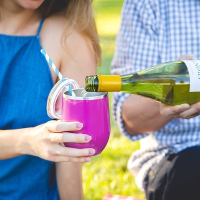 Maars® Drinkware Stainless Steel Wine Glass