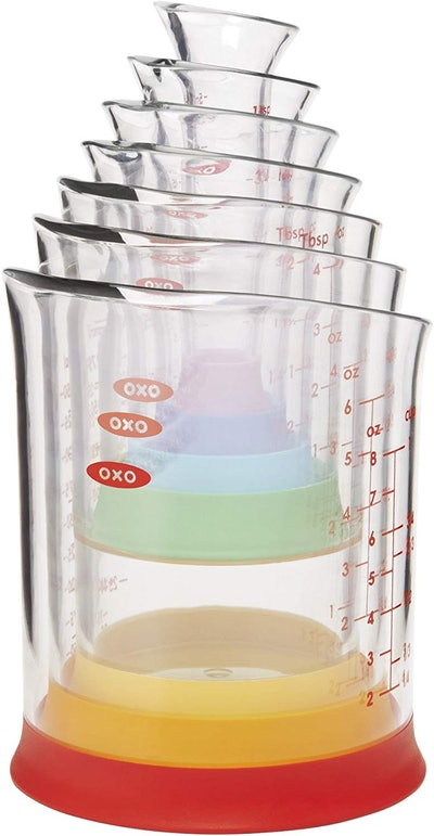 OXO Good Grips Nesting Measuring Beakers (7-Piece Set)