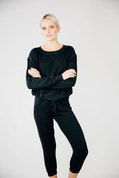 The Dame Sweatsuit- Black
