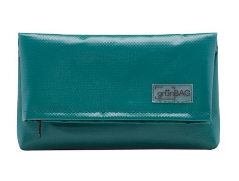 A green grünBAG clutch makes a perfect sustainable gift for the environmentalist in your life.