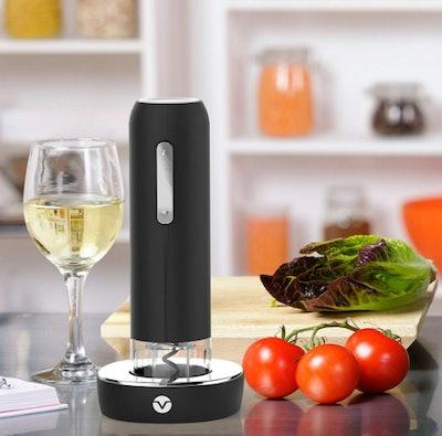 Vremi Electric Wine Opener Set