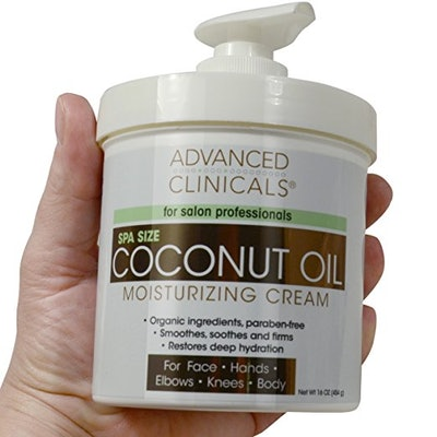 Advanced Clinicals Coconut Oil Cream