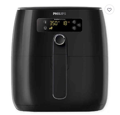Philips TurboStar Digital Air Fryer in Black