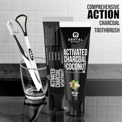 Dental Expert Charcoal Teeth Whitening Toothpaste