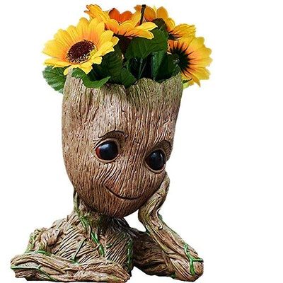 B-Best Guardians of The Galaxy Groot Pen Pot Tree Man Pens Holder