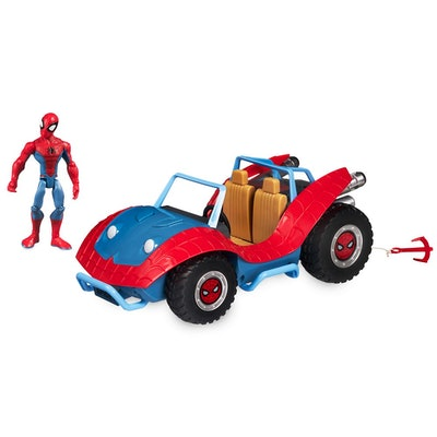Spider-Man with Spider-Mobile Playset