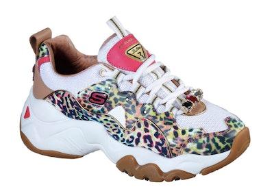 Skechers D'Lites 3.0 - The Cheetah Queen