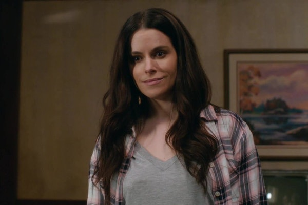 Emily Hampshire as Stevie Budd on 'Schitt's Creek'