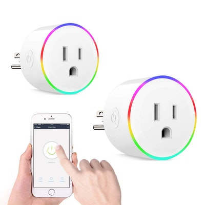 NETVIP WiFi Smart Plug Mini (2-Pack)
