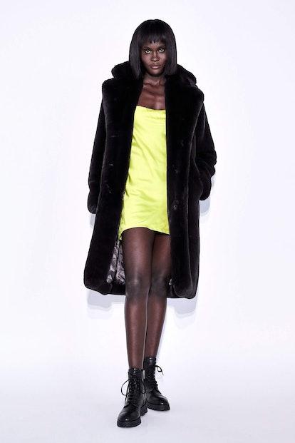 Siena Faux Fur Coat