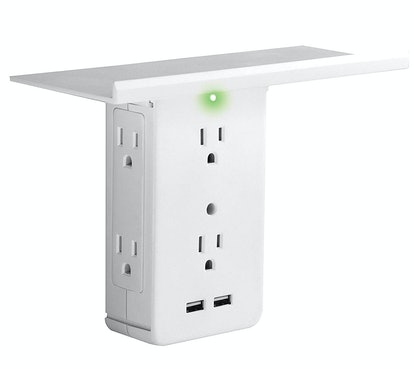 Wall Outlet with Built-In Shelf by Allstar Innovations