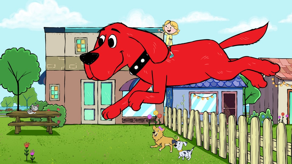 "A new ""Clifford"" series is coming to PBS and Amazon Prime."