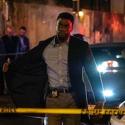 Chadwick Boseman as Andre in '21 Bridges'