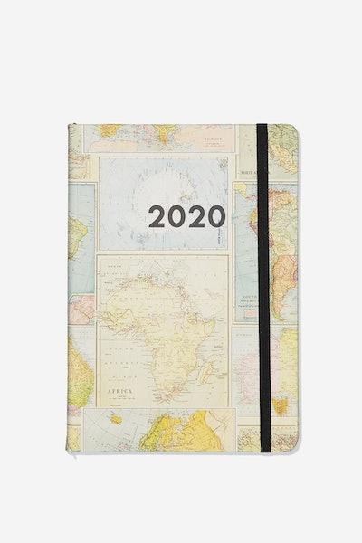 2020 A5 Weekly Buffalo Diary