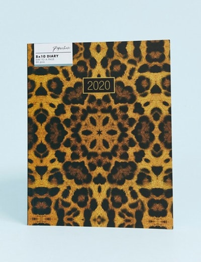 Paperchase leopard 2020 diary