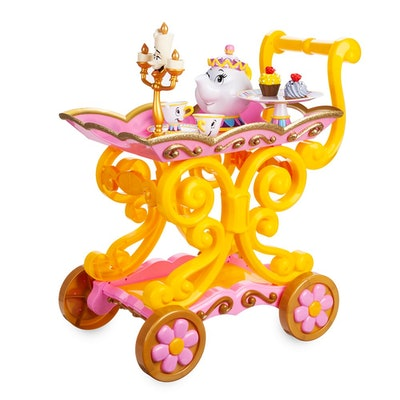 "Beauty and the Beast ""Be Our Guest"" Singing Tea Cart Play Set"