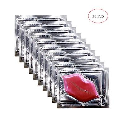 Genuva Pink Collagen Crystal Lip Masks (Pack of 30)