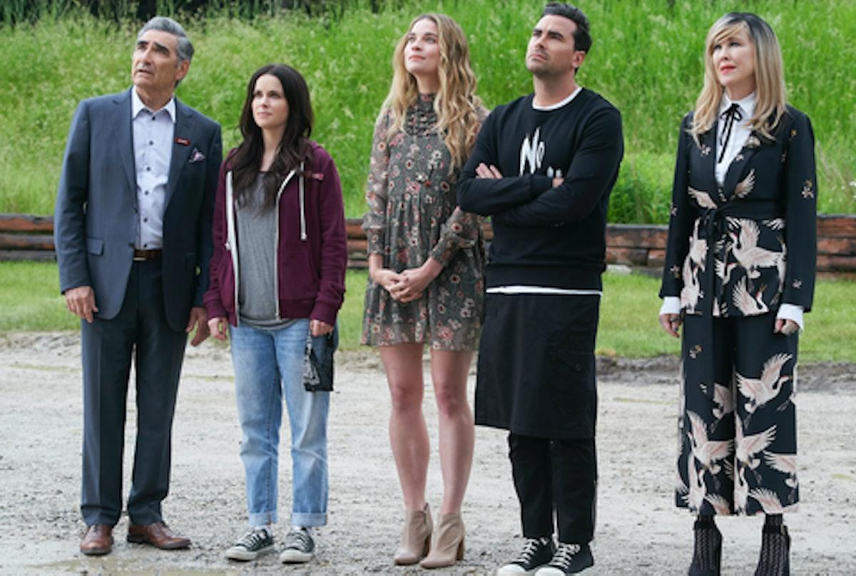 cast of 'Schitt's Creek'