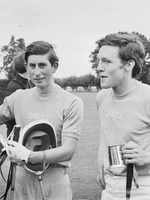 Prince Charles at a polo match