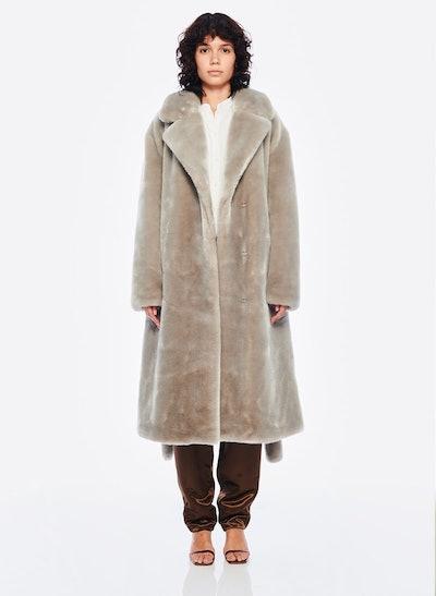 Luxe Faux Fur Oversized Coat