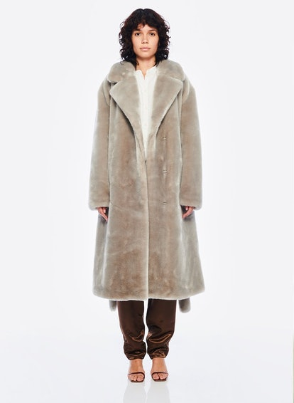 Luxe Faux Fur Oversized Coat