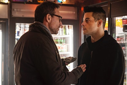 Mr. Robot without the hat is Elliot's protector