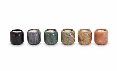 Materialism Stone Candle Gift Set