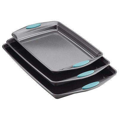 Rachael Ray Nonstick Bakeware Set with Grips